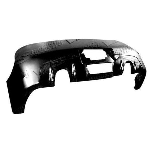 VIS Racing Z-Speed / CS-Style Rear Bumper (Fiberglass) - Infiniti G35 Coupe - Outcast Garage