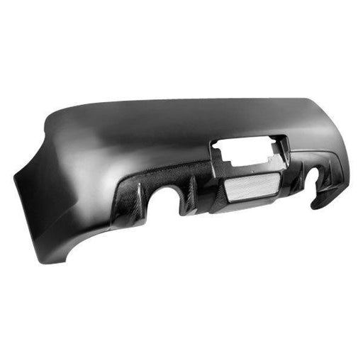VIS Racing Z-Speed / CS-Style Rear Bumper (Fiberglass + Carbon) - Infiniti G35 Coupe - Outcast Garage