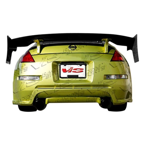 VIS Racing Demon Wide Body Rear Bumper (Fiberglass) - Nissan 350Z - Outcast Garage