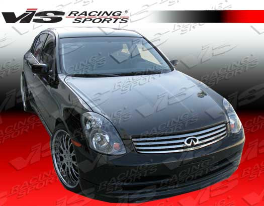 VIS Racing OEM-Style Hood (Carbon Fiber) - Infiniti G35 Sedan (03-04) - Outcast Garage