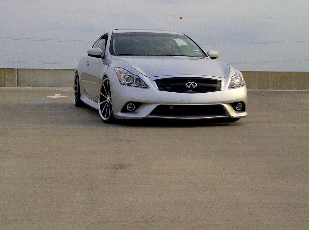 Infiniti OEM Front Sport Bumper Conversion Kit - G37/Q60 Coupe - Outcast Garage