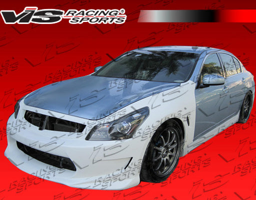 VIS Racing AMS GT Full Kit (Fiberglass) - Infiniti G35 Sedan (07-08) - Outcast Garage