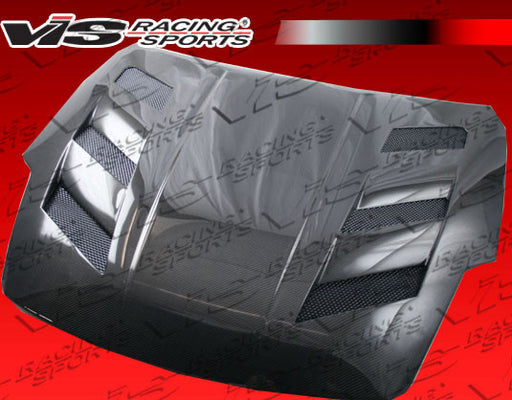 VIS Racing AMS HR Hood (Carbon Fiber) - Nissan 350Z (03-08) - Outcast Garage