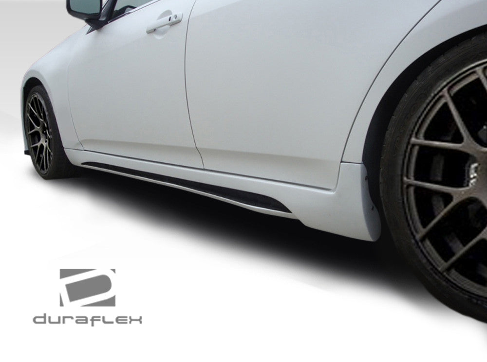 Duraflex Fiberglass Elite Side Skirts  - G35 / G37 Sedan - Outcast Garage