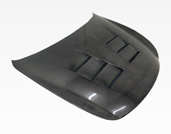 VIS Racing Terminator / TS-Style Hood (Carbon Fiber) - Infiniti G37 / Q60 Coupe (09-15) - Outcast Garage
