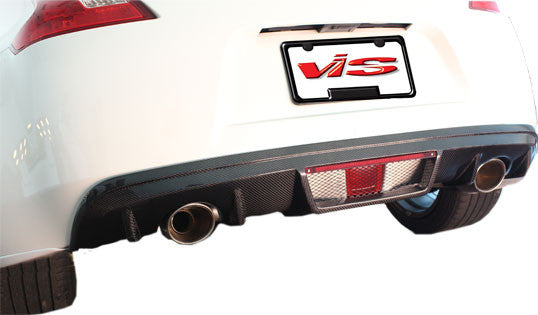 VIS Racing RS Carbon Fiber Rear Diffuser - 370Z
