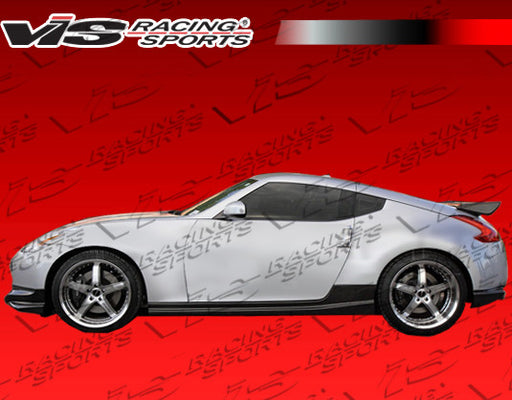 VIS Racing Techno-R / Nismo-Style Side Skirts (Carbon Fiber) - Nissan 370Z - Outcast Garage