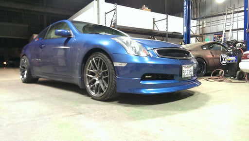 Type-V Front Lip (Poly) - Infiniti G35 Coupe Non-Sport - Outcast Garage