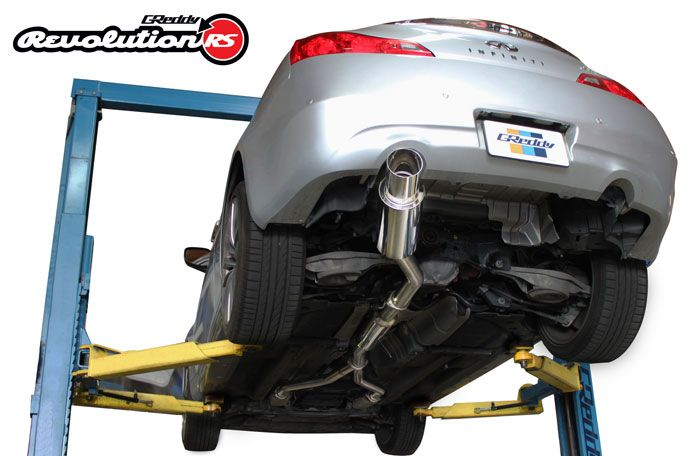 GReddy Revolution RS Catback Exhaust - G37/Q60 Coupe - Outcast Garage
