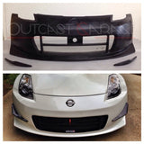 Nismo-Style V2 Poly Front Bumper - 350Z