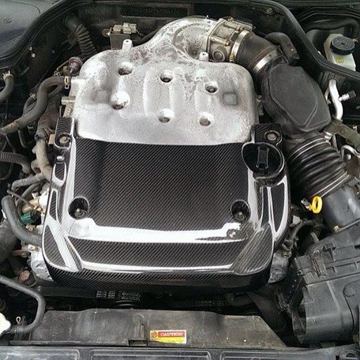 Carbon Fiber Half Engine Cover - G35 Coupe - Outcast Garage