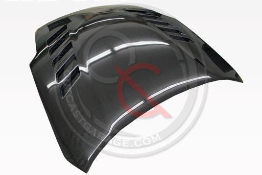 VIS Racing Astek HR Hood (Carbon Fiber) - Nissan 350Z (03-08) - Outcast Garage