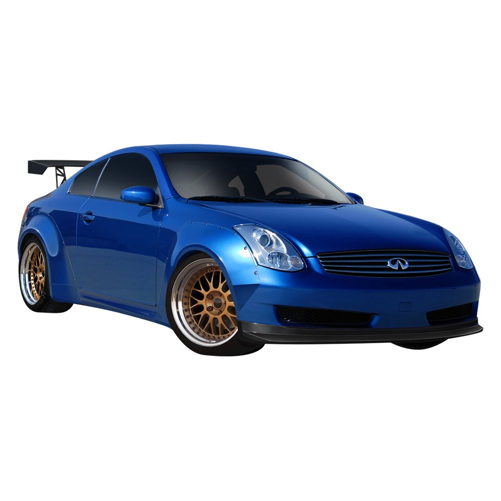 Duraflex Circuit 75mm Widebody Fender Flares (Fiberglass) - Infiniti G35 Coupe (Sport) - Outcast Garage