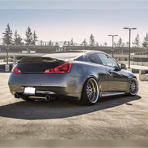 OG Designs Duckbill Trunk V1 (Backup Camera) - Infiniti G37 / Q60 Coupe (08-15) - Outcast Garage