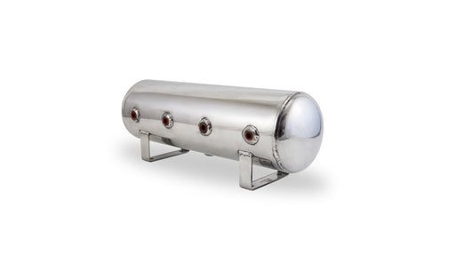 Air Lift Performance Aluminum Air Tank (Polished) - 2.5 Gallon - Outcast Garage