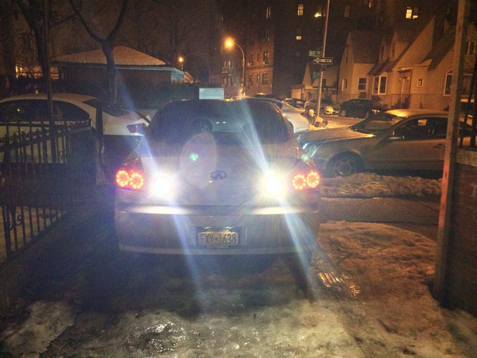 Stage 4 LED CREE 25W Reverse Lights - G35 Sedan - Outcast Garage