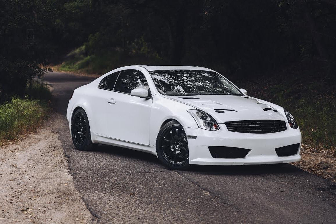 Inven Front Bumper (Poly) - Infiniti G35 Coupe - Outcast Garage
