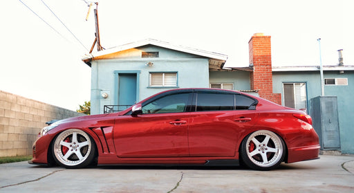 VRO Tuning Impul Replica Side Skirts - Infiniti Q50 - Outcast Garage