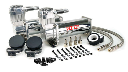 VIAIR 444C Dual Chrome Compressors 200 PSI - Outcast Garage