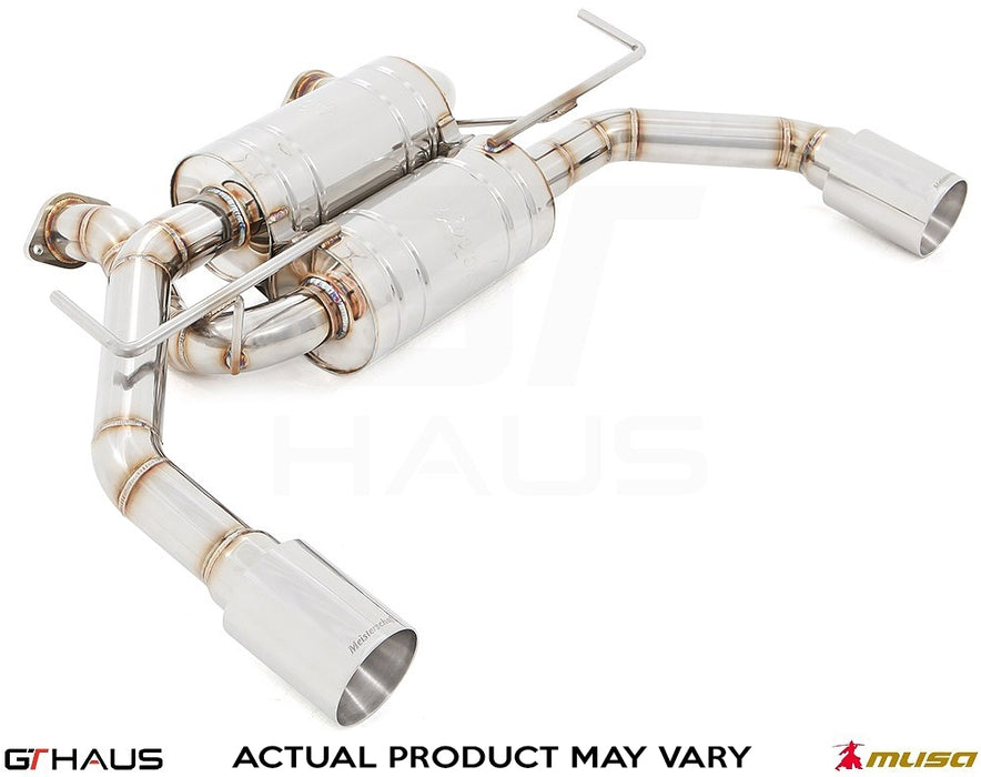 GT Haus Musa GT2 Exhaust - Q60 Coupe - Outcast Garage