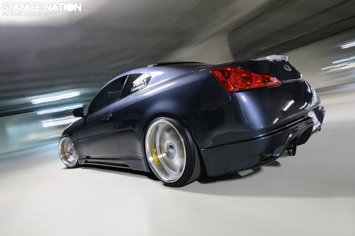 AIT Racing S-Tech / TS-Style Fiberglass Side Skirts - Infiniti G37 / Q60 Coupe (08-15) - Outcast Garage