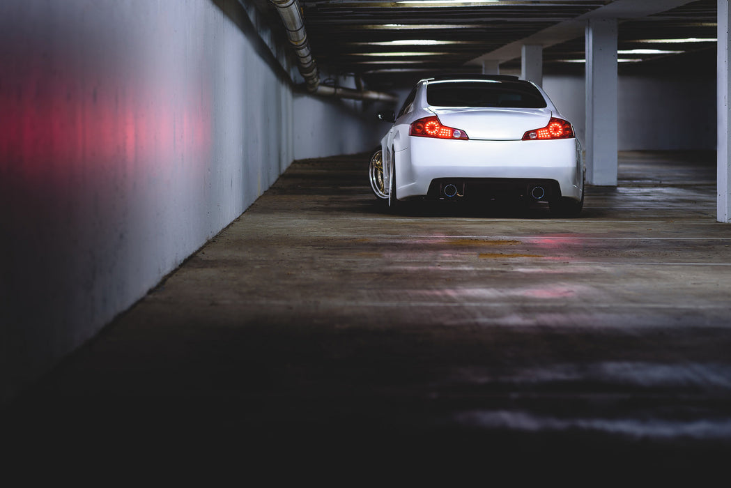 CS-Style (Chargespeed Replica) Rear Bumper (Poly) - Infiniti G35 Coupe - Outcast Garage