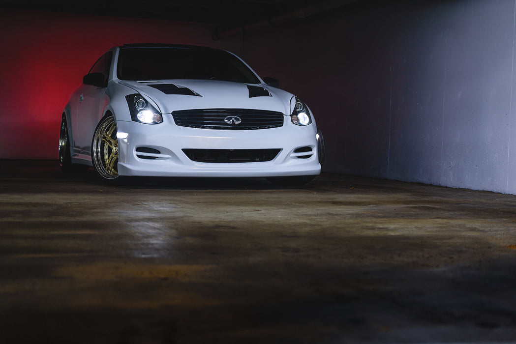 OG Designs Front Bumper (Poly) - Infiniti G35 Coupe - Outcast Garage