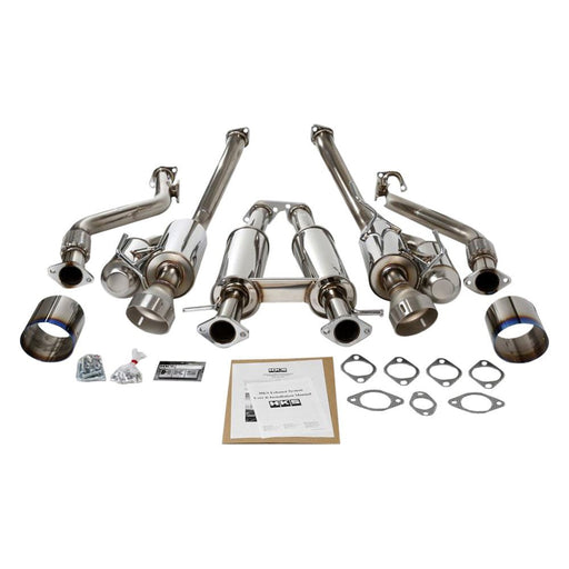HKS High Power Cat Back Exhaust - 370Z - Outcast Garage