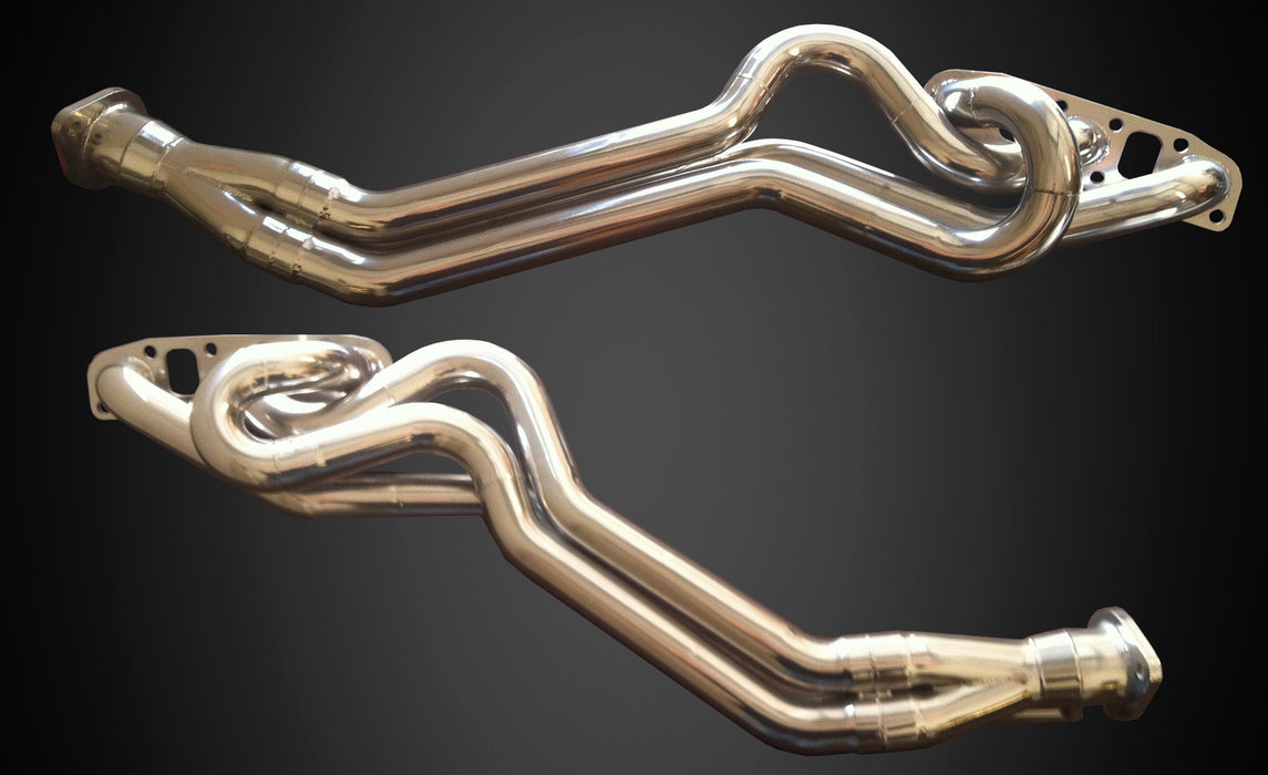 PPE Long Tube Headers - 370Z - Outcast Garage