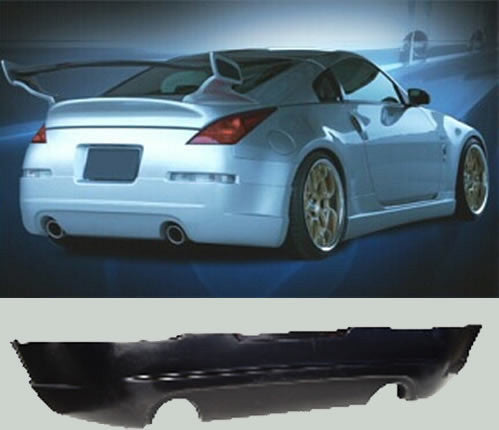 ING-Style Rear Lip (Poly) - Nissan 350Z - Outcast Garage