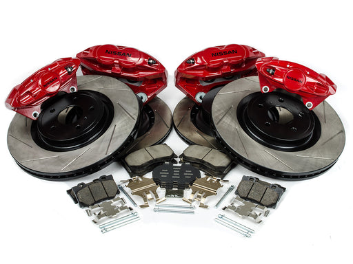 Akebono Infiniti Front and Rear Big Brake Upgrade Kit - Outcast Garage