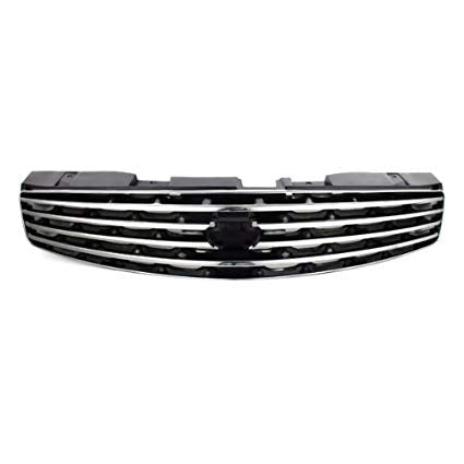 Infiniti OEM Front Bumper Grille, Chrome - Infiniti G35 03-07 Coupe V35