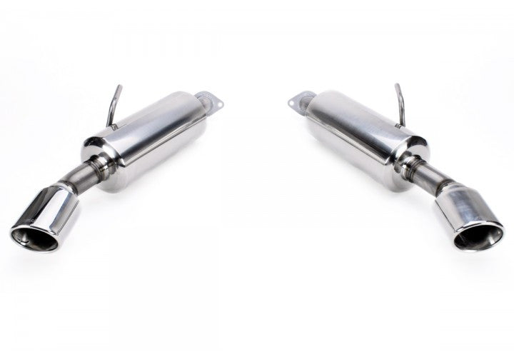 Stillen Stainless Steel Axle-Back Exhaust System - Q50 - Outcast Garage