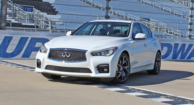 OEM Sport V1 Front Bumper Conversion Kit - Infiniti Q50 - Outcast Garage