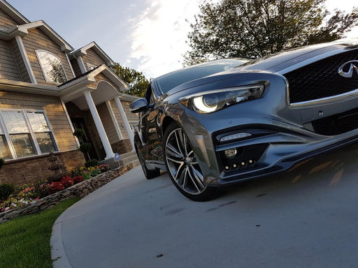 VRO Tuning IM-Style Front Bumper - Q50 - Outcast Garage