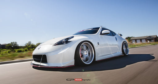 OG Designs Side Splitters (Carbon) - Nissan 370Z - Outcast Garage