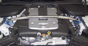 Cusco Front Strut Bar - G37 Sedan - Outcast Garage
