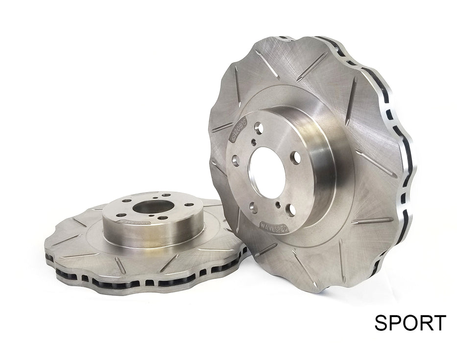 StopTech Select Sport Drilled Slotted Brake Rotor Front Left for 350Z 03-05 VQ35