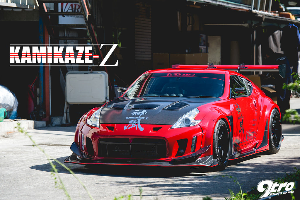 varis kamikaze wide body kit type d 370z outcast garage. Black Bedroom Furniture Sets. Home Design Ideas