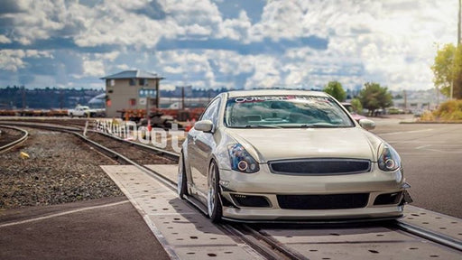 K2 Remix Front Bumper (Poly) - Infiniti G35 Coupe - Outcast Garage