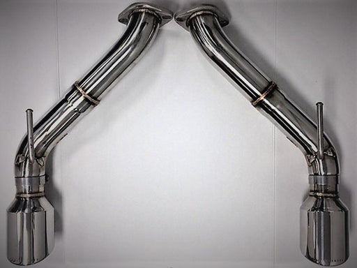 Infiniti Stainless Steel Sports Axle Back Exhaust- Q60 - Outcast Garage
