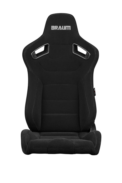 Braum Racing Black Fabric Elite Series Racing Seats - Outcast Garage