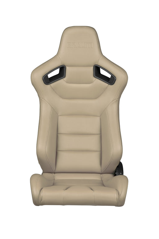 BRAUM Racing Elite Series Racing Seats (Beige) - Outcast Garage