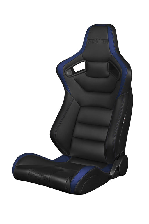 BRAUM Racing Elite Series Racing Seats (Black & Blue) - Outcast Garage