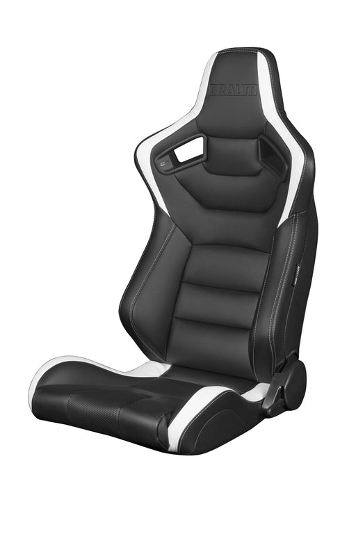 Braum Racing Black & White Elite Series Racing Seats - Outcast Garage
