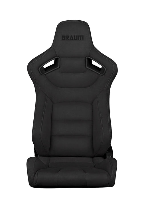 Braum Racing Graphite Suede Elite Series Racing Seats - Outcast Garage