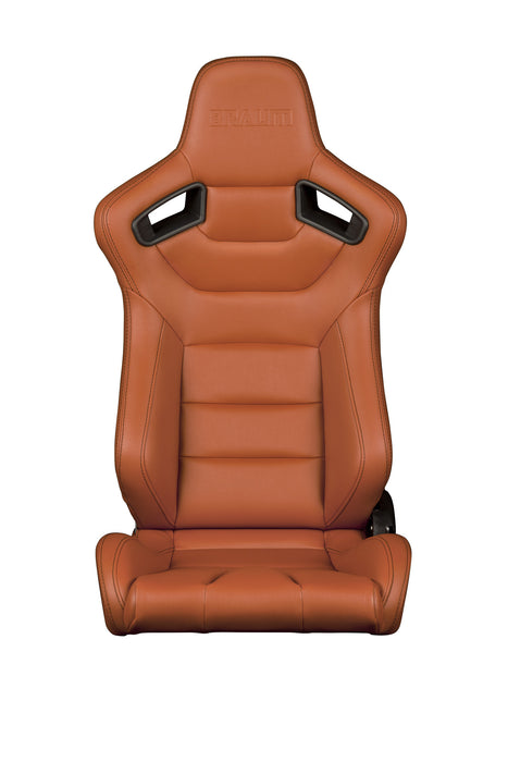 Braum Racing British Tan Elite Series Racing Seats - Outcast Garage