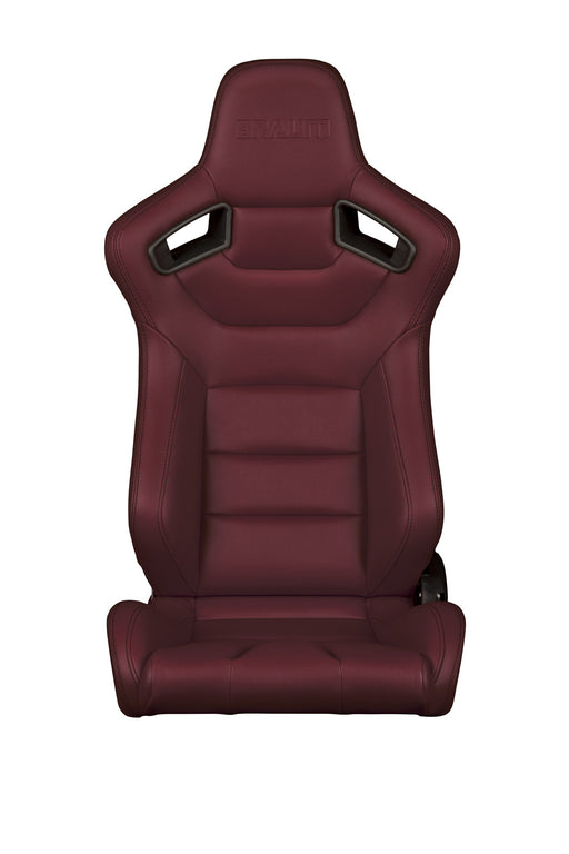 Braum Racing Maroon Elite Series Racing Seats - Outcast Garage
