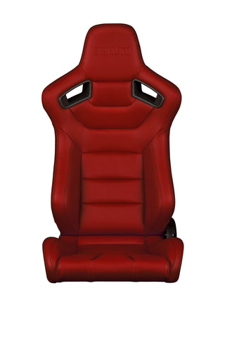 Braum Racing Red Elite Series Racing Seats - Outcast Garage