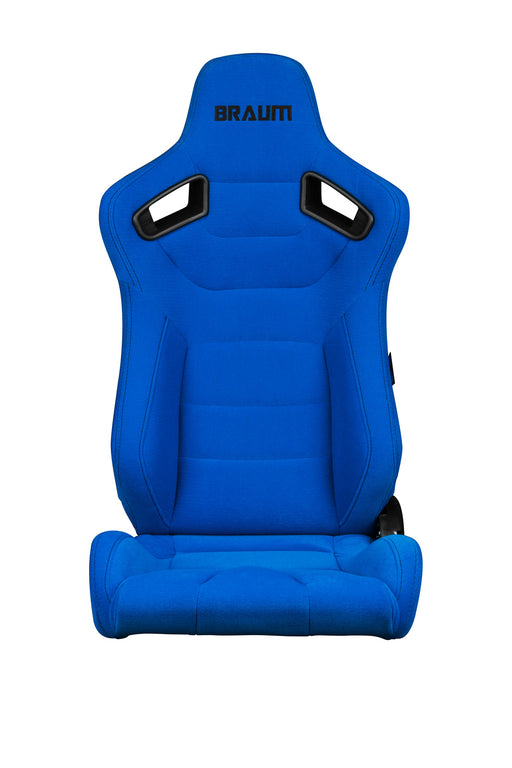 Braum Racing Blue Fabric Elite Series Racing Seats - Outcast Garage